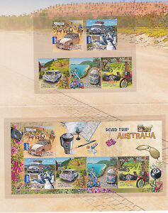 2012-Road-Trip-Australia-Post-Office-Pack-With-Stamps-amp-Mini-Sheet