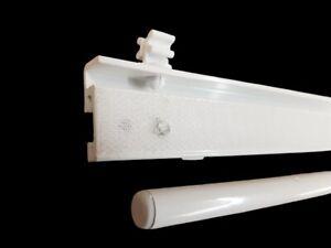 Paneelwagen 60cm Fur Flachenvorhang 6 Mm Laufsysteme Mit Rollen Und X Gleiter Ebay