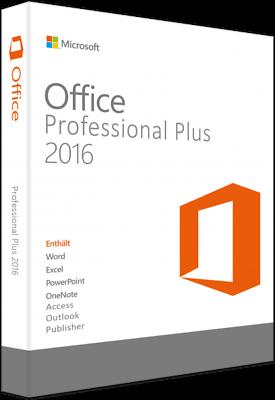 Microsoft Office Professional Plus2016 32&64bit,usb-stick,deutsch Wir Haben Lob Von Kunden Gewonnen Büro & Business