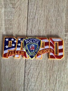 NYPD PAPD Port Authority Police Fallen Heroes Patch