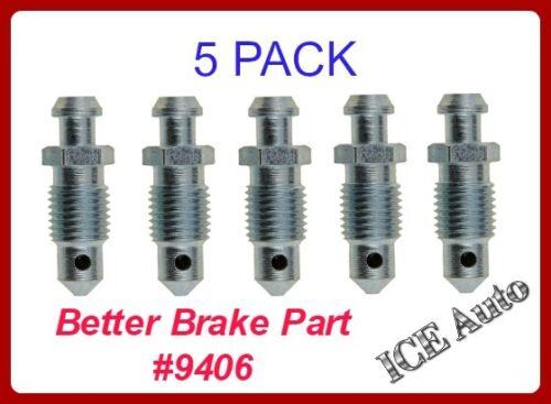 Brake Bleeder Screw Front,Rear Better Brake 9406
