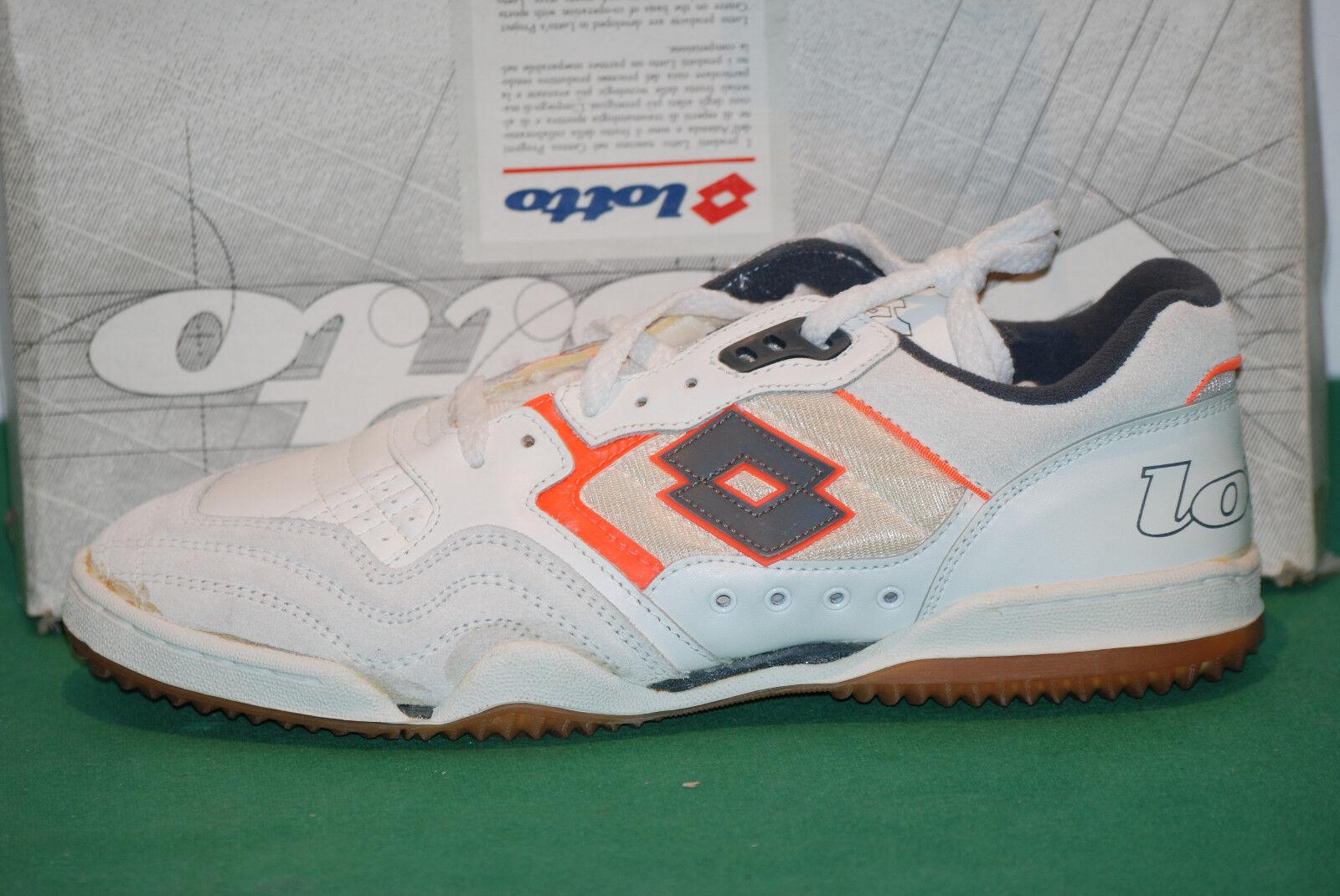 Vintage Lotto equipo 2000 Becker Zapatos 1991 tenis Elite nos Interior