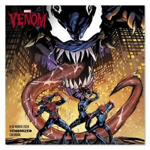 Calendario Premier League 2020 16.Details About Marvel S Venom 2020 Wall Calendar Brand New Ddw291