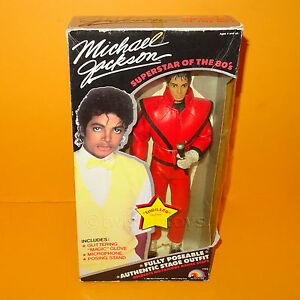 Vintage 1984 80s ljn toys michael jackson thriller for Three jackson toy