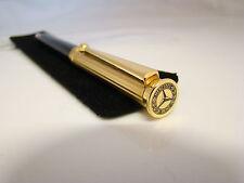 24ct Gold Plated Mercedes Benz Pen Merc Ballpoint Pen 24k Gold Plated Gift Idea