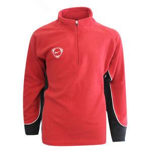 best loved 43f4e 420e4 ... Nike-Football-Garcons-Rouge-en-Polyester-Noir-Half-