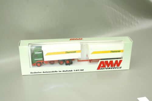 """AMW volvo remolcarse camiones /""""Thomsen/"""" 70541 1:87//h0 OVP nos awm"""