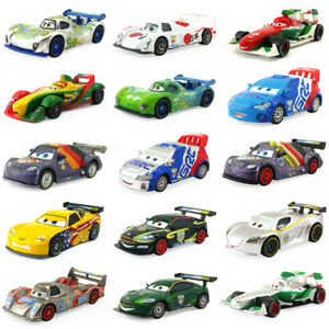 Disney-Pixar-Cars-2-Racers-U-K-U-S-A-Toy-Car-Model-1-55-Diecast-Boy-Kids-Gift