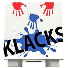 Baff Klacks Trommelhocker Blanc Cajon pour les Enfants