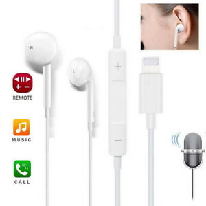 For Apple iPhone XS max XR X Wired Bluetooth Earbuds