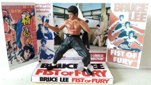 FIST OF FURY CHINESE CONNECTION Action Figure Custom Display Base BRUCE LEE