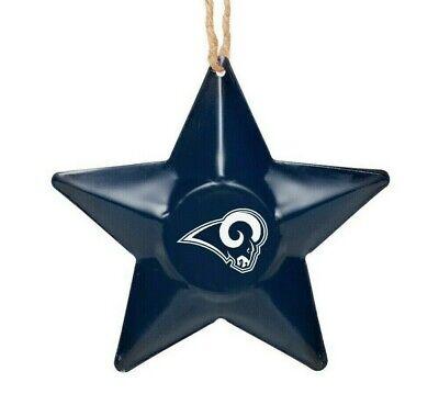 Los Angeles Rams Christmas Tree Holiday Ornament New ...