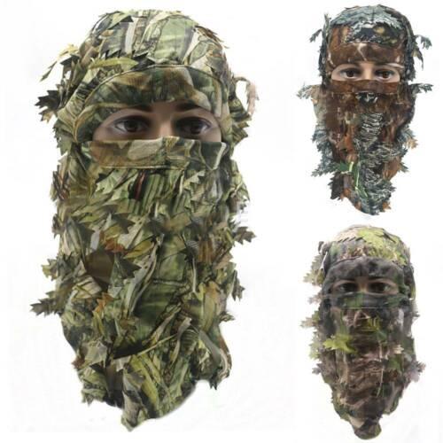 Camouflage Unisex Outdoor Sports Jagd Schießen Vollmaske Verbergen Kopfbedeckung