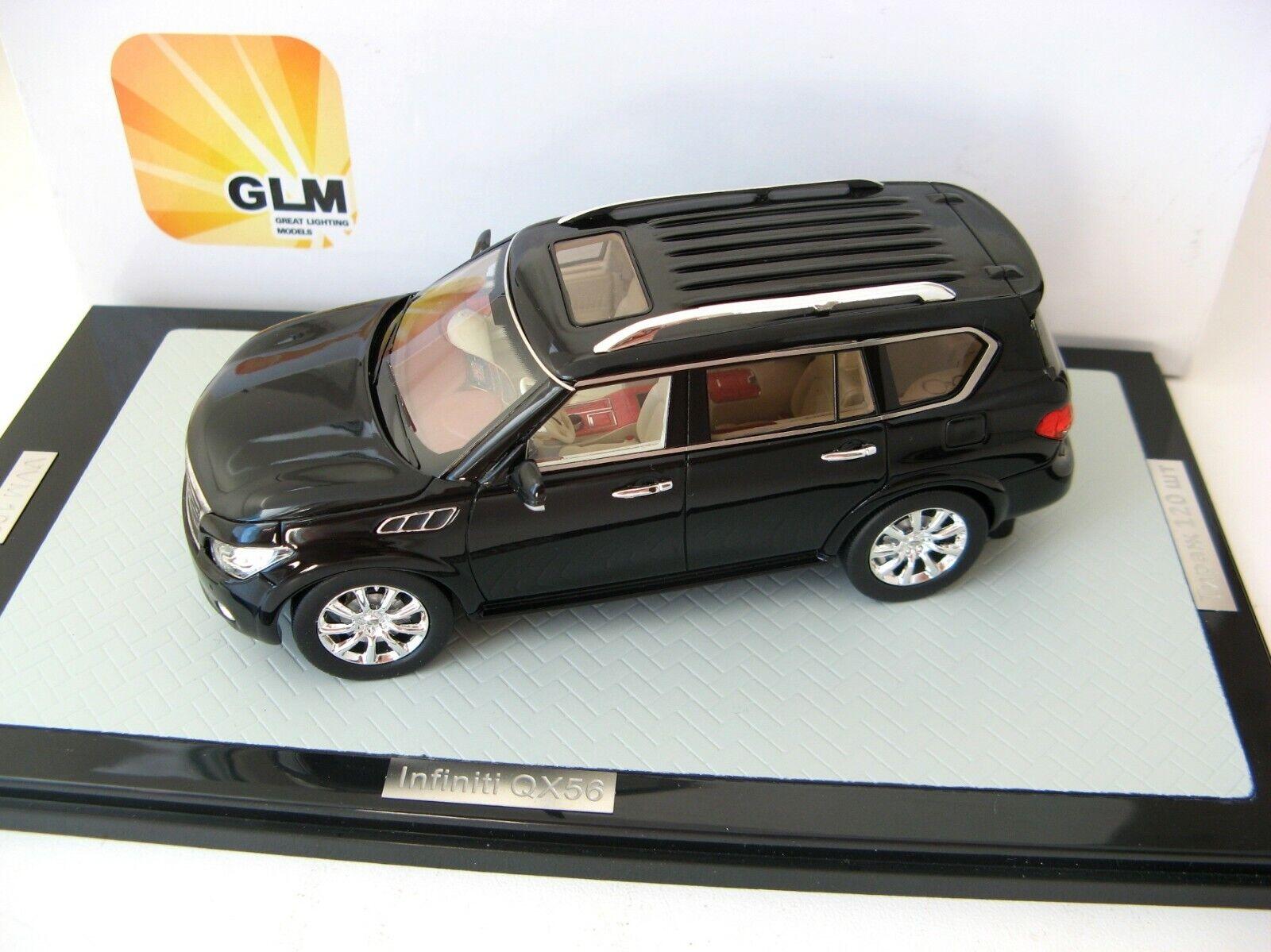 Infiniti QX56 negro Lim. 120 Piezas. 1 43 GLM Rara