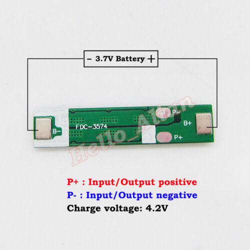 1S 5A 3.7V 4.2V 18650 Li-ion LiPo Lithium Battery Charger PCB Protection Board