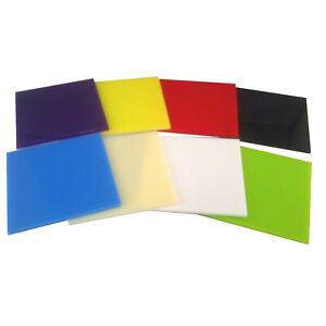 3 mm A4 BLEU Perspex Feuille Acrylique 297 mm x 210 mm solide couleur