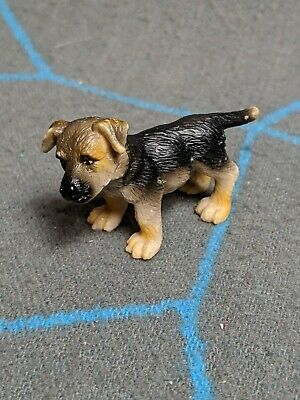 Schleich German Shepherd Puppy Baby Dog Realistic Animal Plastic Toy 2005 Ebay