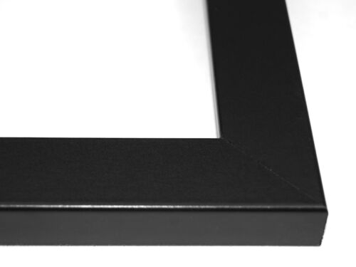 11 Opening 4x6 Glass Face Black Picture Frame With 10x40 Black Mat Collage