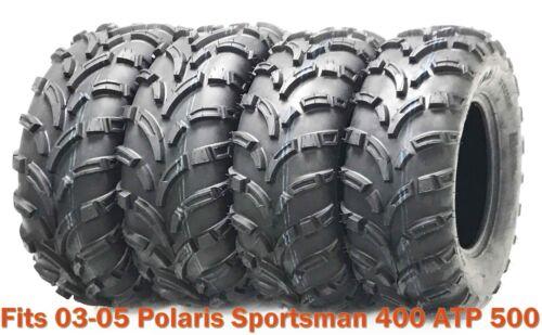 Set 4 WANDA ATV tires 25x8-12 /& 25x11-12 fr 03-05 Polaris Sportsman 400 ATP 500