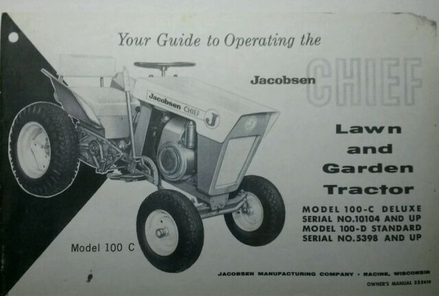 lawn chief 20 mower manual
