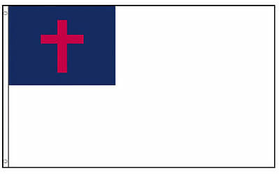 Continental-Army-NEW-3-039-x5-039-Large-Christian-Flag-3x5-ft-Banner-perma-dye-fabric