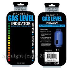 1x GLI Magnetische Füllstandsanzeige Gasstand Gas-Anzeiger für Propan-Gas oder