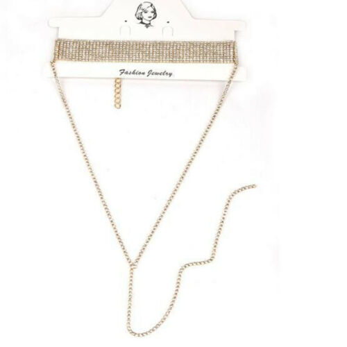 TT 4mm Leather S.Steel Clip-On Buckle Collar Necklace For Childern 40-50cm NEW