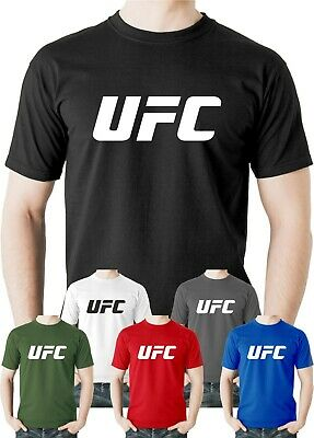 MMA Gym Training Bodybulding Martial Arts Mens Black Cotton Tshirt Top Tee Shirt