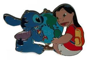 Disney Auction Back To School Lilo And Stitch Le 100 Pin Ebay