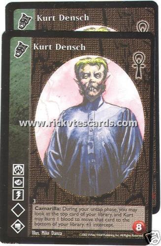 Kurt Densch x2 Nosferatu CE VTES Jyhad
