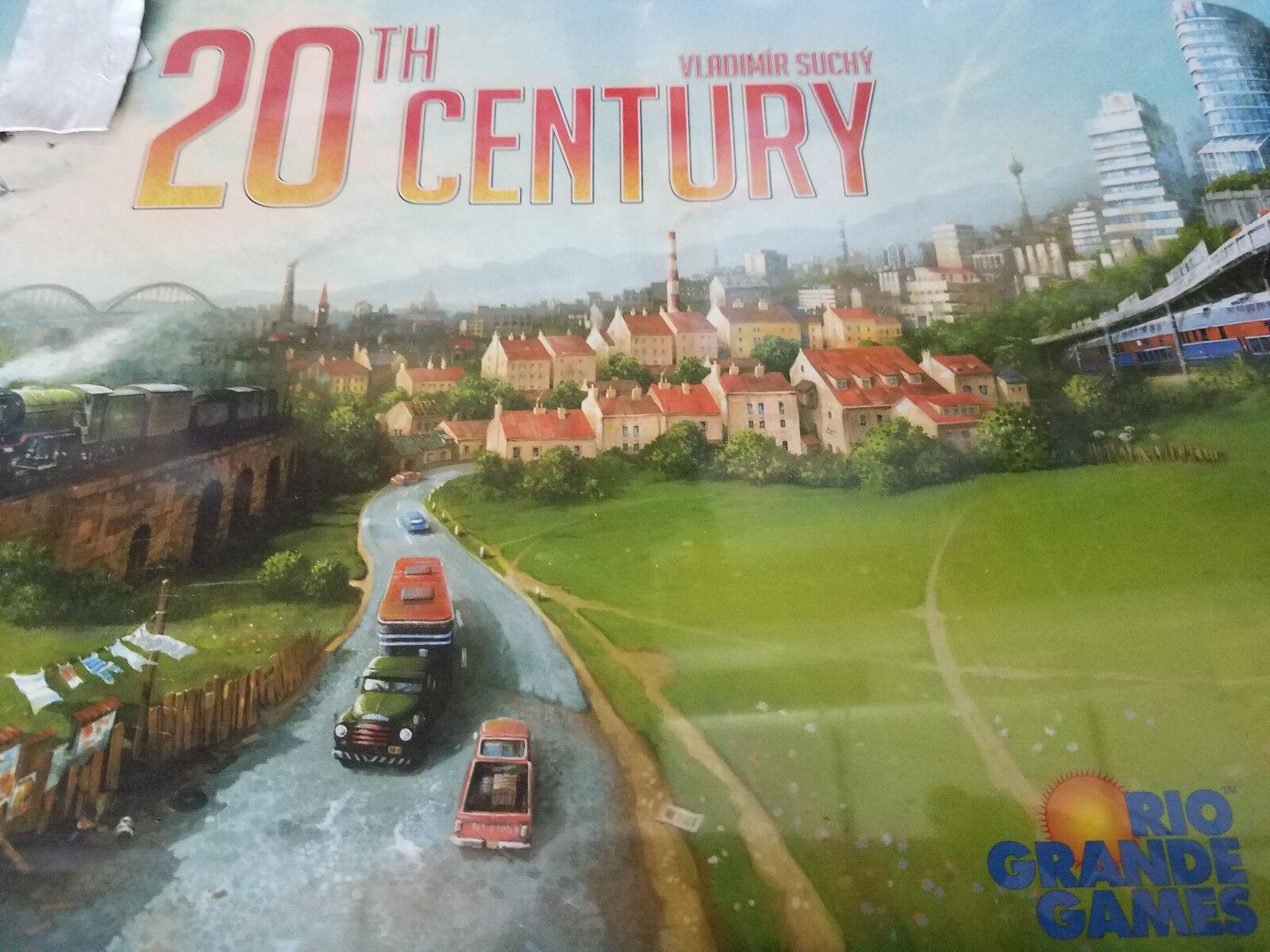 The 20th Century - Rio Grande Games Board Game New