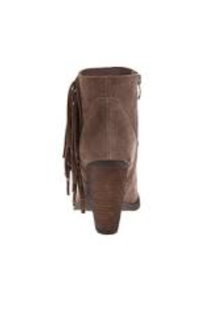 NIB Sbicca Marimba TAUPE FRINGE Ankle Booties Stiefel Damenschuhe 8 M