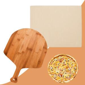 Pizzastein Set Wärmespeicherung Cordierit Gasgrill Backstein Pizzaschaufel