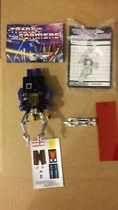 Transformers G1 Insecticon Shrapnel W/ Original Box Loose FREE SHIP US