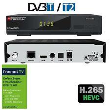 OPTICUM AX 360 Freenet TV DVB-T2 HD, H.265, HEVC mit Zimmer Antenne
