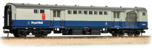 RARE Bachmann 39-426 TPO Sorting Van with Nets BR azul & gris No. W80304 NEW
