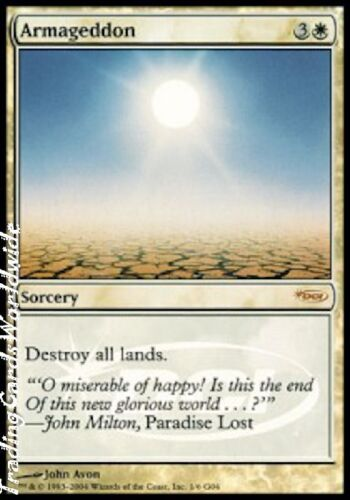 Armageddon Foil NM JR Promos engl. Magic the Gathering