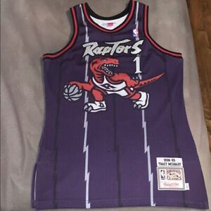uk availability 814aa 5e10d Details about Tracy mcgrady raptors Authentic Jersey