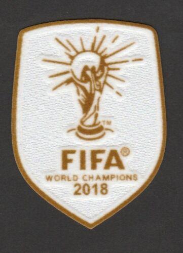 Patch World Champions winners 2018 Iron-On France champion du monde