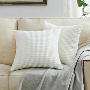 Big Corn Corduroy Cushion Cover Home Decorative Sofa Car Throw Pillow Case C1