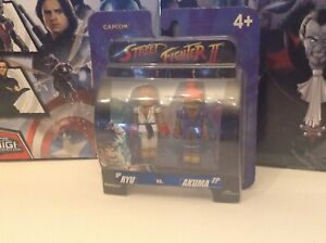 Details About Street Fighter Ryu Vs Akuma Minimates 2005 Capcom New Sealed Articulated