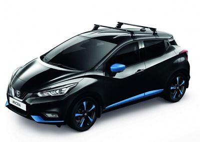 Thule WingBar EVO Aluminium Dachträger + EBA für Nissan Leaf Typ ZE1 kpl