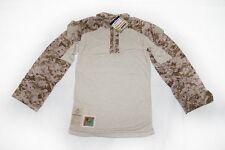 NEW NWU Type II Navy Seal AOR1 desert FROG COMBAT FR Shirt TOP MANY SIZES