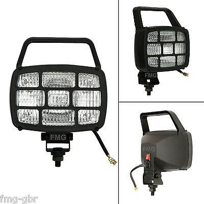 24V Halogen Arbeitsscheinwerfer H3 70W Zusatzscheinwerfer Scheinwerfer Schalter