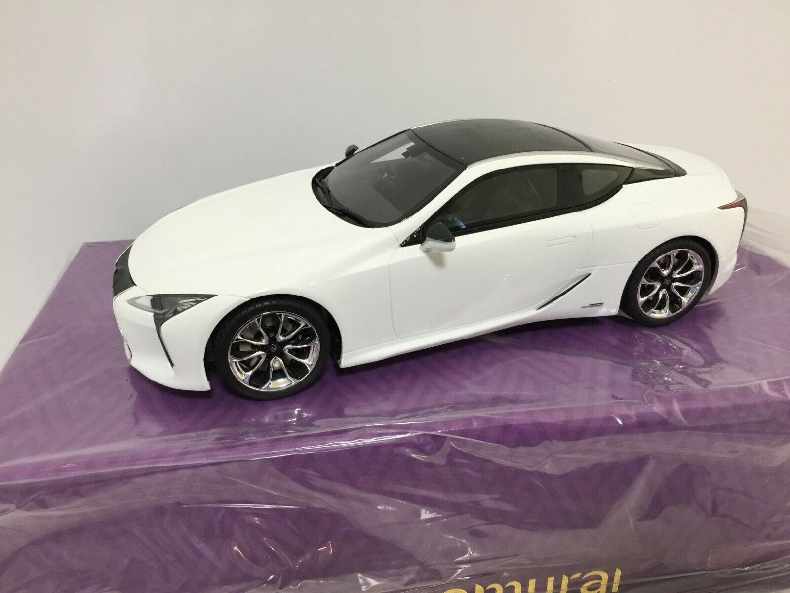 NEW Kyosho Die Cast Car SAMURAI LEXUS LC500h White Scale Scale Scale 1 18  from JAPAN F S 94dbe0