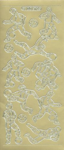 DD 5702 Doodey Outline Stickers Auto-collant Sport Football Soccer