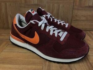 finest selection 10af8 7342c Image is loading Vintage-Nike-Air-Vortex-Red-Orange-Men-s-