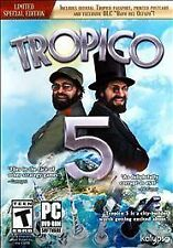 Brand New Sealed Tropico 5: Limited Special Edition (PC, 2014)