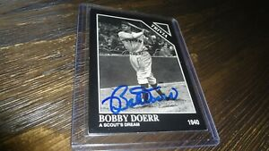 1993-THE-SPORTING-NEWS-BOB-DOERR-AUTOGRAPHED-BASEBALL-CARD