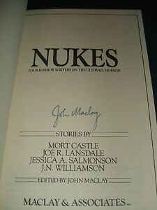Nukes-Four-Horror-writers-on-the-Ultimate-Horror-Fine-copy-signed-by-the-editor